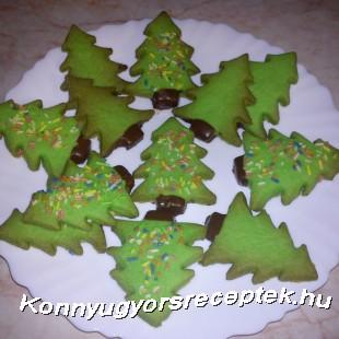 Karácsonyi vaníliás süti recept