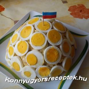 Orosz hússaláta recept