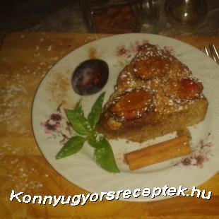 Szilvás-diós pite   recept