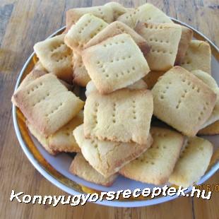 Rizslisztes háztartási keksz, gluténmentes recept
