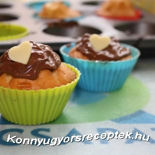 Mogyorókrémes muffin - KD módra recept