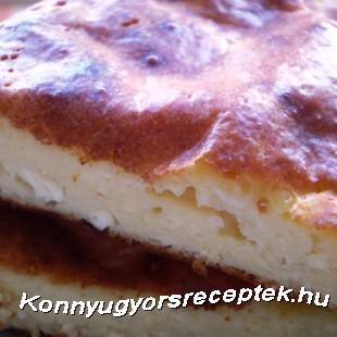 Diétás vaníliás túróspite recept