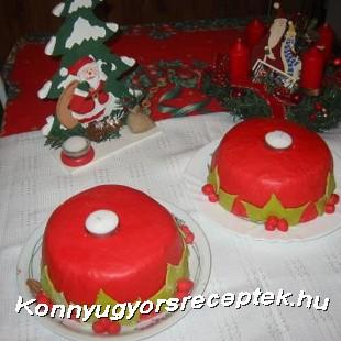 Karácsonyi gyertya recept