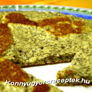 Diétás mákos proteinpalacsinta recept