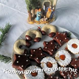 Karácsonyi linzertál recept