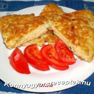 TOJÁSOS KRUMPLIS LEPÉNY recept