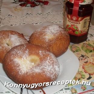 Farsangi fánk recept
