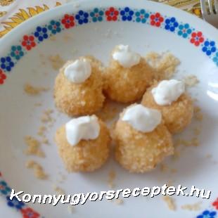 Túrógombóc recept