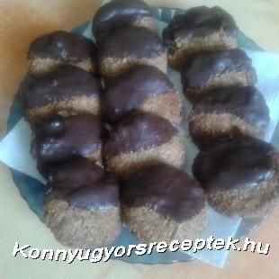 Diós-zabpelyhes keksz recept