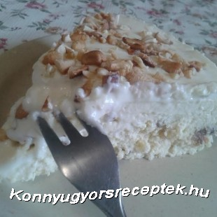 Túrótorta liszt- és cukormentesen recept