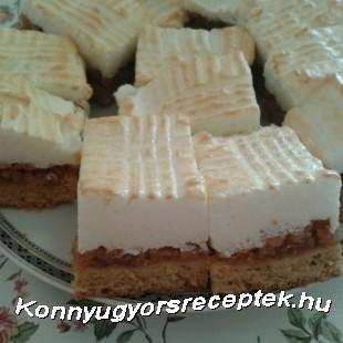 Almás habos reformsüti recept