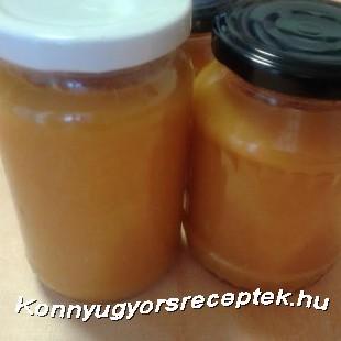 Sütőtökös-narancsos-almás dzsem recept