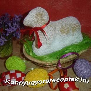 Húsvéti bárány recept