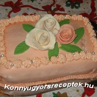 Puncs torta recept