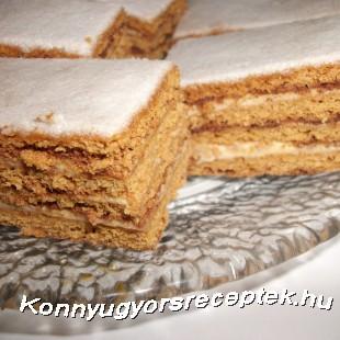 Szalalkális süti recept