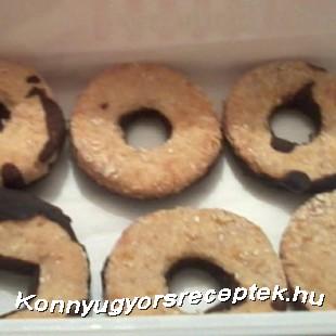 Vaníliás karika egészségesen recept