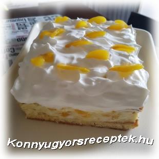 Őszibarackos Vanília krémes Glutén&Tejmentesen recept