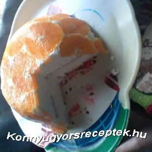 Narancstorta recept