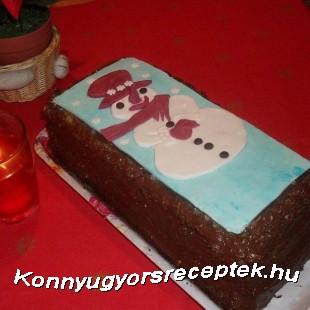 Karácsonyi stefánia torta recept