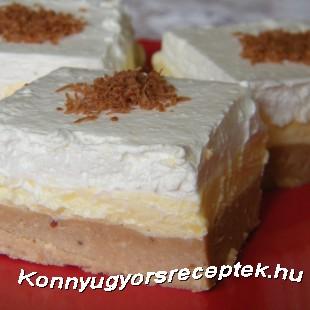 Gesztenyés krémes süti recept