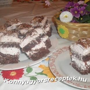 Joghurthabos kocka recept