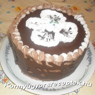 Sport csoki torta recept