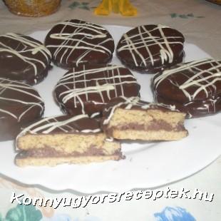 Csokikrémes isler recept