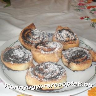 Gyors kakaós ( túrós) csiga-gluténmentesen  recept