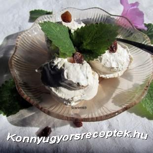 Gesztenye fagyi recept