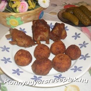 Sajtos krumplifánk recept