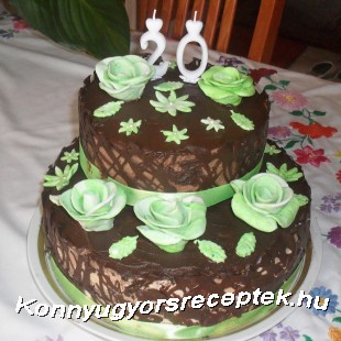 Latte machiato és sport csokis torta recept