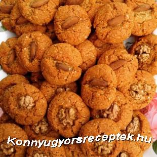 Ausztrál kókuszos-mézes keksz recept