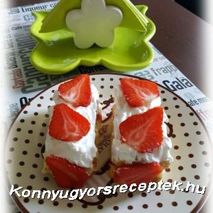 Epres habos krémes Glutén&Tejmentes recept