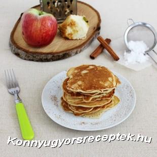 Fahéjas-almás palacsinta recept