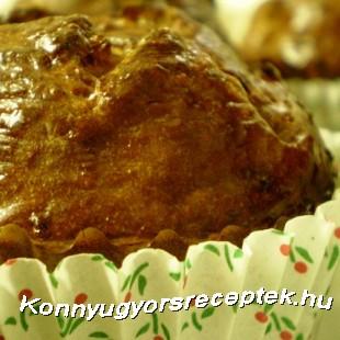 Diétás pikk-pakk proteinmuffin recept