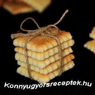 Citromos keksz recept