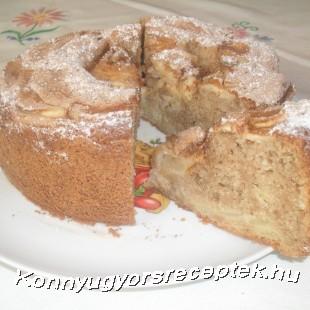 Mascarponés (olasz) almás piskóta recept
