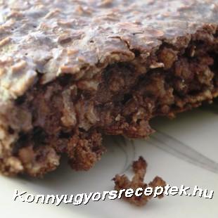Diétás csupa csoki proteinpite recept