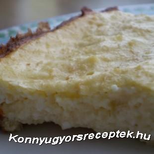 Diétás lusta túróspite recept