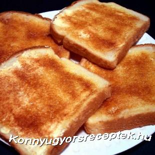pirítós kenyér recept