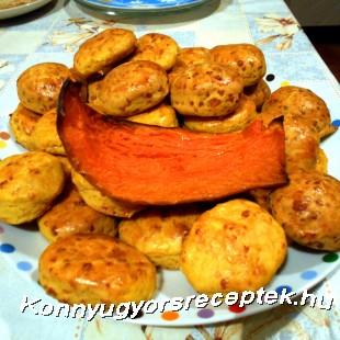 Sütőtökös karika recept