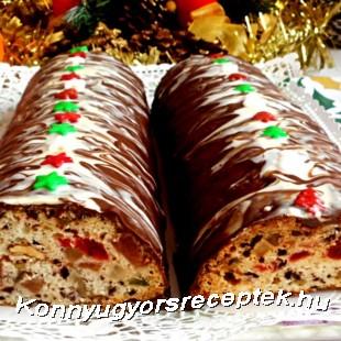 Karácsonyi püspökkenyér recept