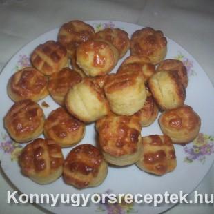 Tejszínes pogácsa recept