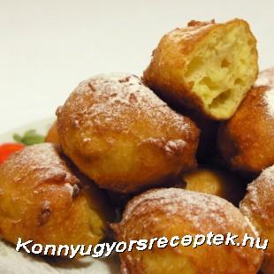 Palacsintafánk recept