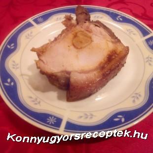 Bőrős malac karaj felszúrva recept