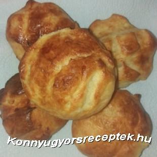 Krumplis pogácsa  recept