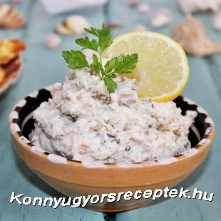 Füstölt makréla szendvicskrém recept