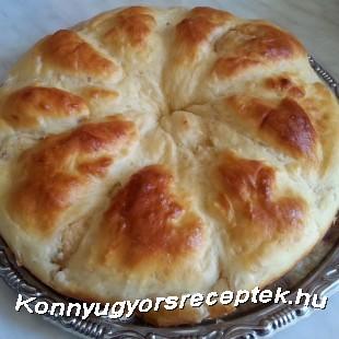 Káposztás kalács recept