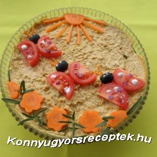 Tojásos-újhagymás tepertőkrém  recept
