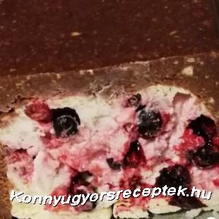 Gyümölcsös alagút recept